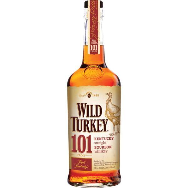 Wild Turkey 101 Proof 8 years whiskey 0,7L 50,5%