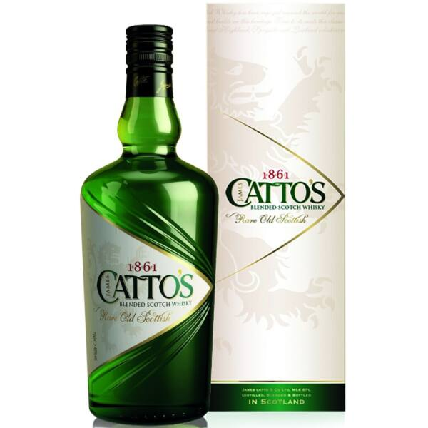 Cattos whisky 0,7L 40% pdd.