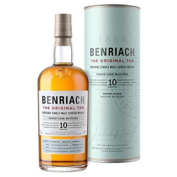 BenRiach 10 éves whisky 0,7L 43%