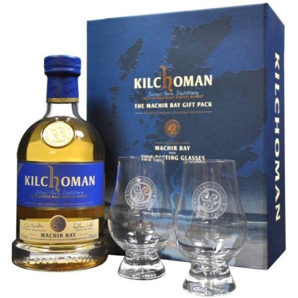 Kilchoman Machir Bay whisky 0,7L 46% pdd.+2 pohár