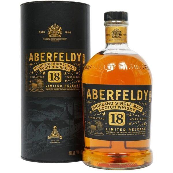 Aberfeldy 18 years whisky 1L 40% dd.