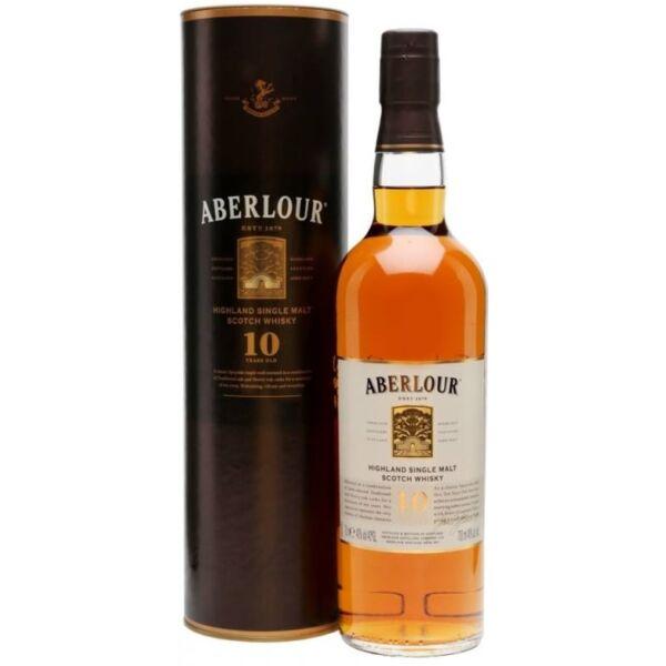 Aberlour 10 years whisky 0,7L 40% dd.