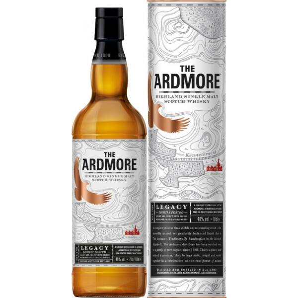 Ardmore Legacy whisky 0,7L 40% dd.