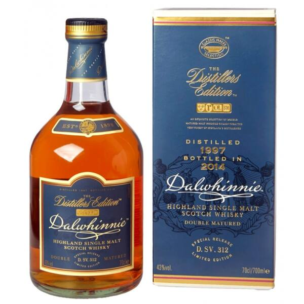 Dalwhinnie Distillers Edt. whisky 0,7L 1997/2014 43% pdd.