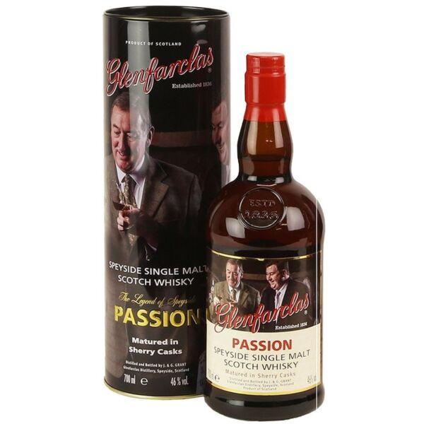Glenfarclas Passion Speyside Single Malt whisky 0,7L 46% fém dd.
