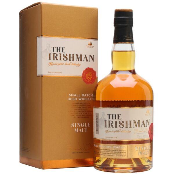 The Irishman Single Malt whisky 40% 0,7L