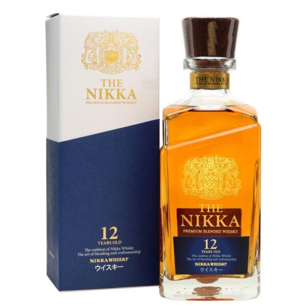 Nikka 12 éves Premium Blended whisky 0,7L 43%