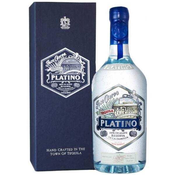 Jose Cuervo Platino Tequila dd. 0,7L 40%