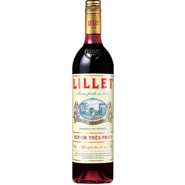 Lillet Rouge Red francia vermut 0,75L 17%