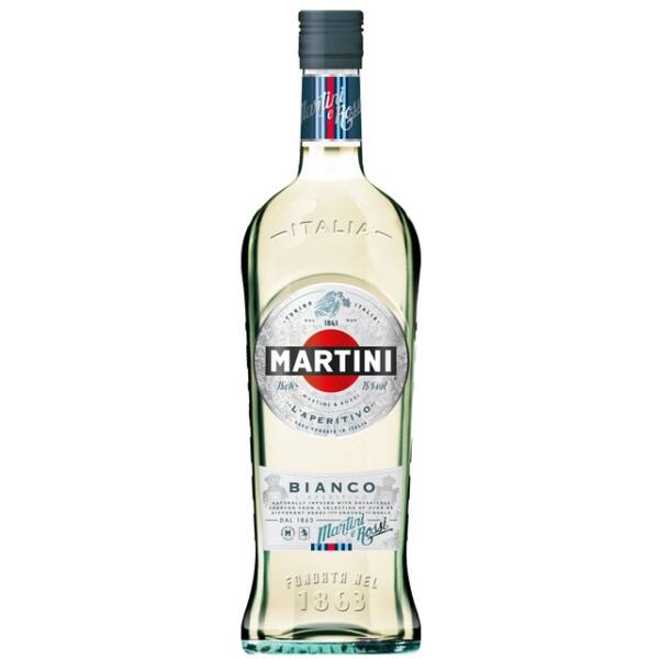 Martini Bianco vermut 1L 15%