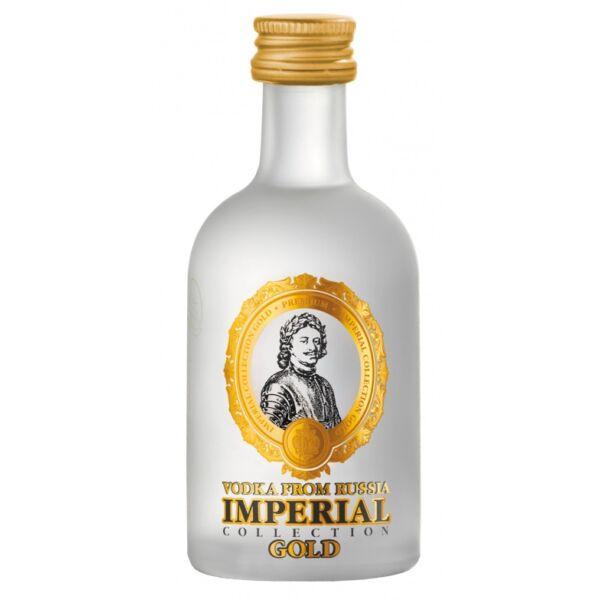 Imperial Collection Gold Vodka mini 0,05L 40%