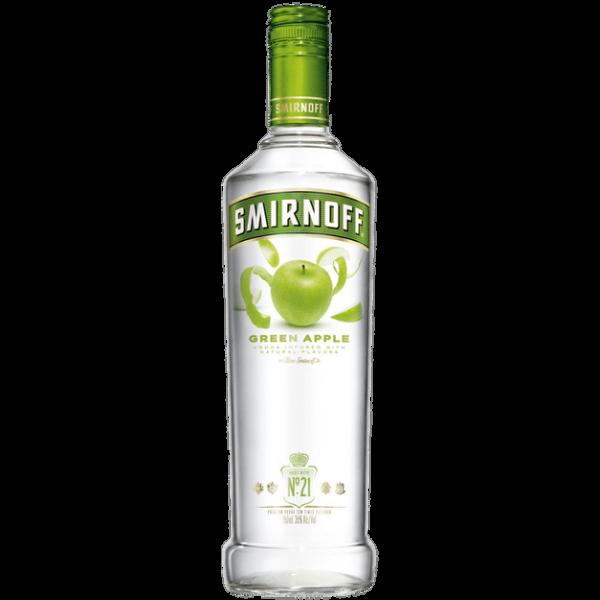 Smirnoff Green Apple Vodka 0,7L 37,5%