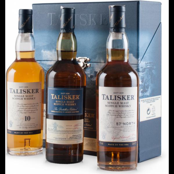 Talisker Triplepack whisky dd. 3x0,2L 49,53%