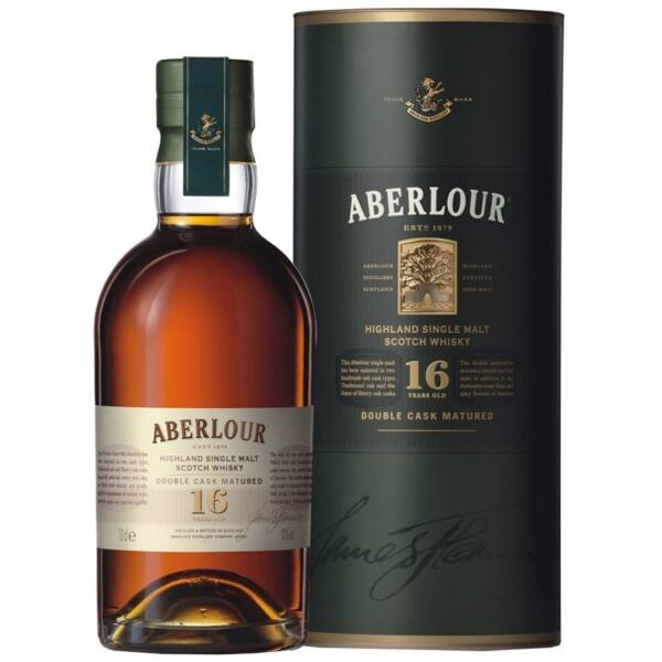 Aberlour 16 years whisky dd. 0,7L 40%