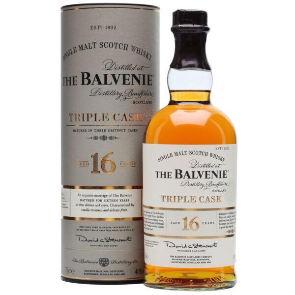 Balvenie 16 years Triple Cask whisky dd. 0,7L 40%