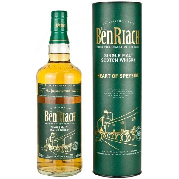 BenRiach Heart of Speyside whisky dd. 0,7L 40%