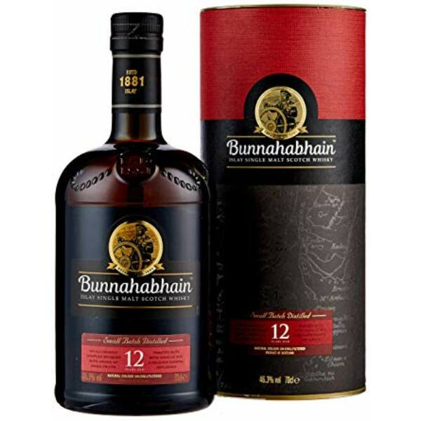 Bunnahabhain 12 years whisky pdd. 0,7L 46,3%