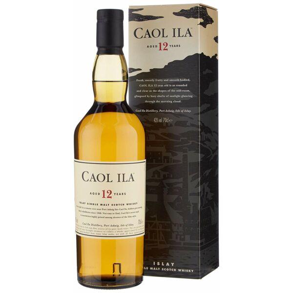Caol Ila 12 years whisky pdd. 0,7L 43%