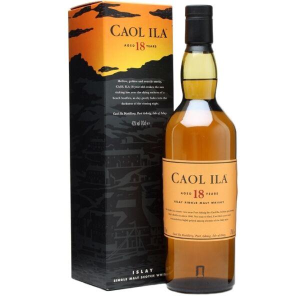 Caol Ila 18 years whisky pdd. 0,7L 43%