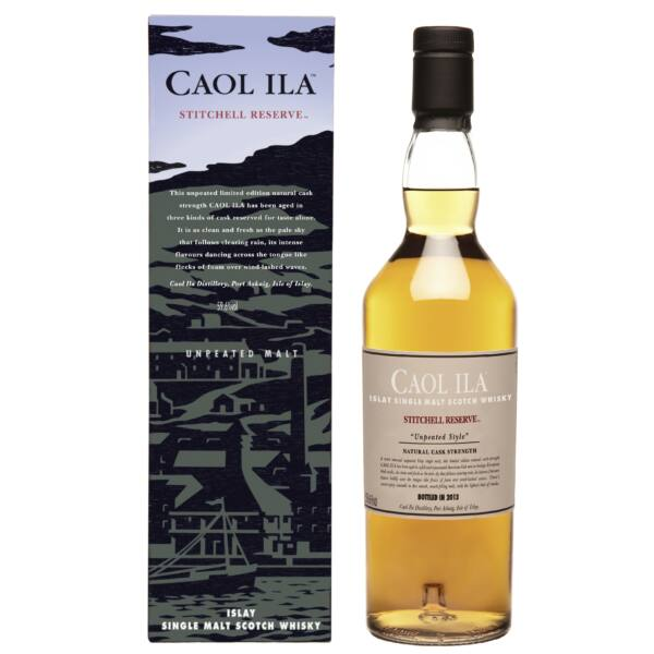 Caol Ila Stitchell Reserve whisky pdd. 0,7L 59,6%