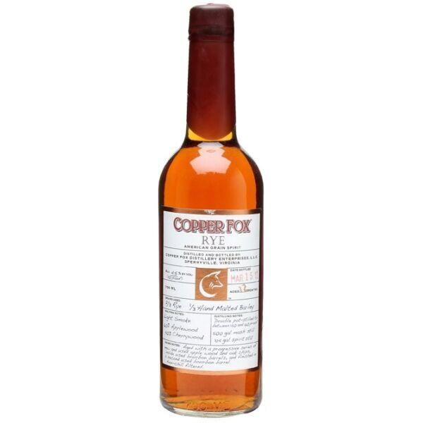 Copper Fox Rye (Wasmunds Distillery) whiskey 0,7L 45%