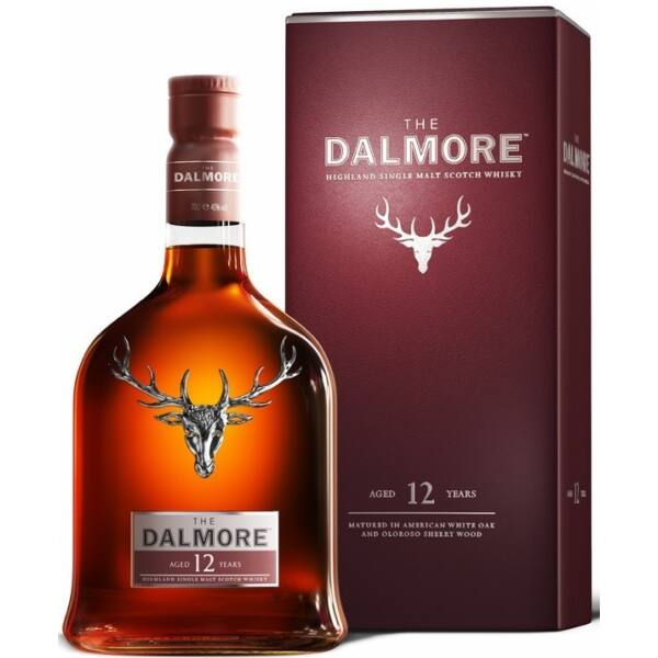 Dalmore 12 years whisky pdd. 0,7L 40%