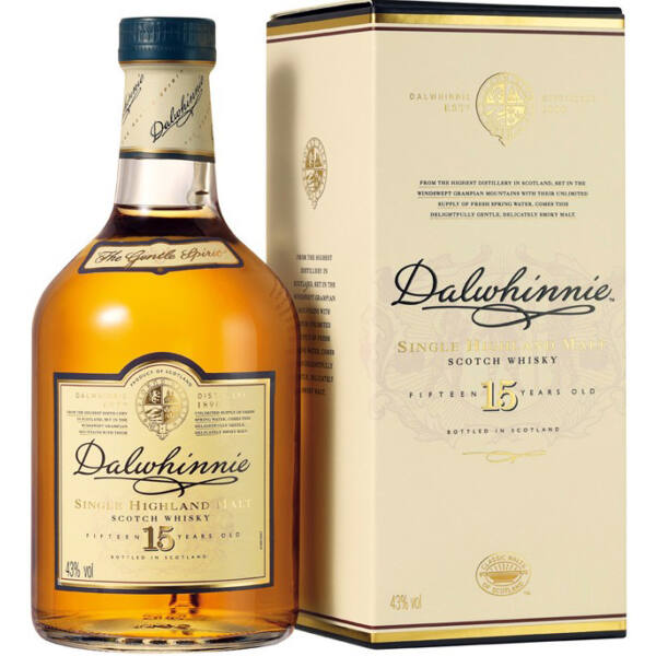 Dalwhinnie 15 years whisky 0,7L 43%