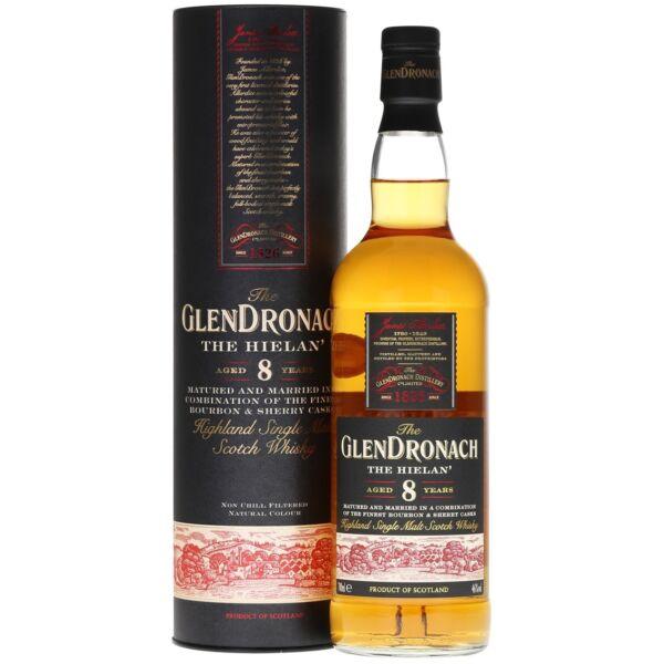 GlenDronach The Hielan' 8 years whisky dd. 0,7L 46%