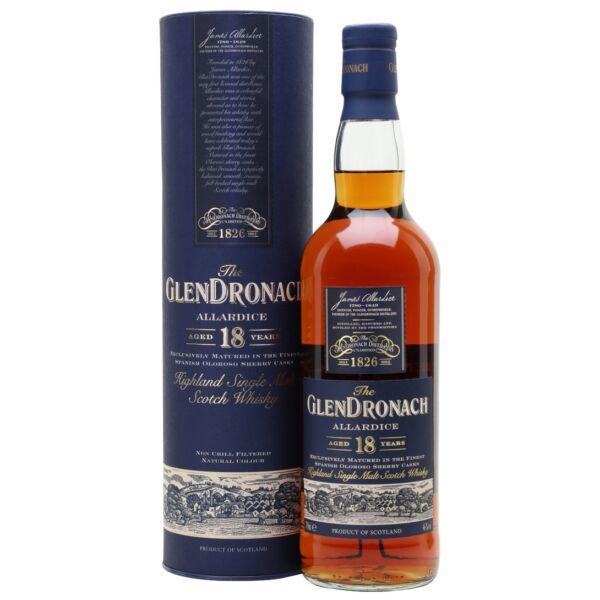 GlenDronach Allardice 18 years whisky dd. 0,7L 46%