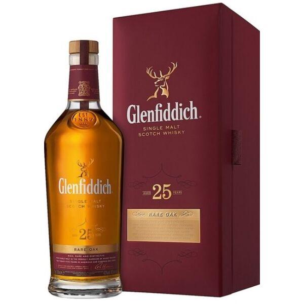 Glenfiddich 25 years whisky dd. 0,7L 43%