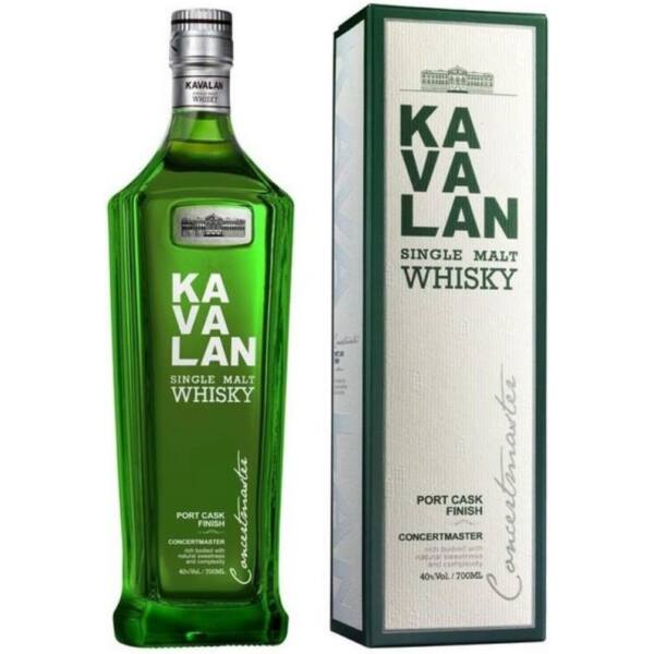 Kavalan Concertmaster Port Cask Single Malt whisky dd. 0,7L 40%