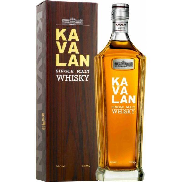 Kavalan Single Malt whisky dd. 0,7L 40%