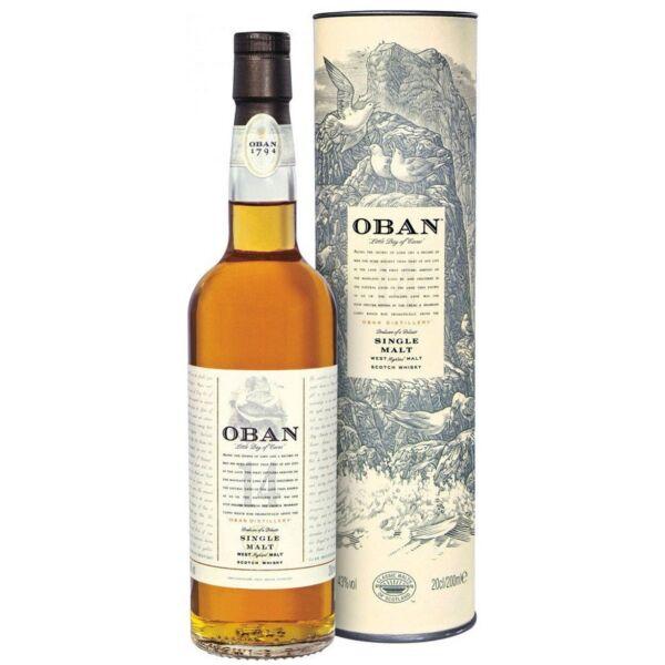 Oban 14 years Old Single Malt whisky dd. 0,7L 43%