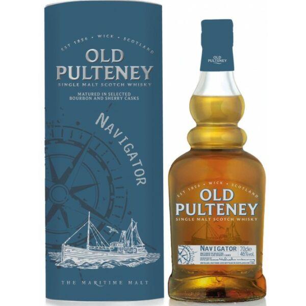 Old Pulteney Navigator whisky dd. 0,7L 46%