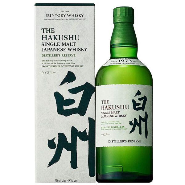Suntory Hakushu Distillers Reserve whisky 0,7L 43%