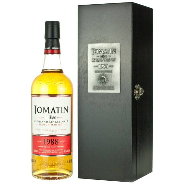 Tomatin 1988 whisky fa dd. 0,7L 46%