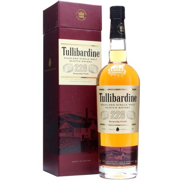 Tullibardine 228 Burgundy Finish whisky dd. 0,7L 43%