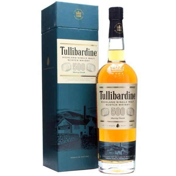 Tullibardine 500 Sherry Finish whisky dd.0,7L 43%