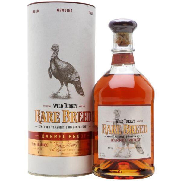 Wild Turkey Rare Breed whiskey 0,7L 58,4%