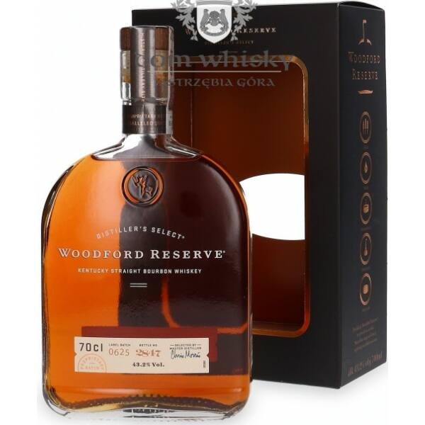 Woodford Reserve Double Oaked whiskey pdd. 0,7L 43,2%