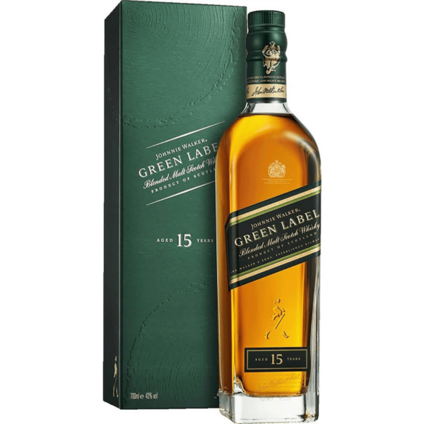Johnnie Walker Green Label 15 years whisky 0,7L 43%