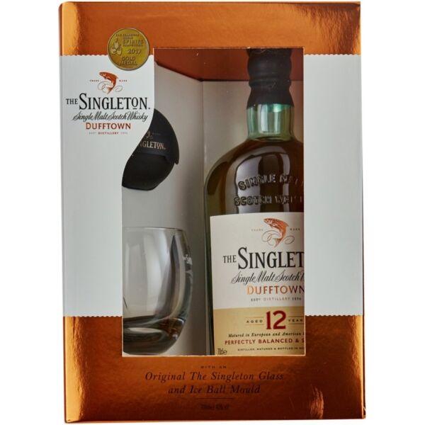 Singleton 12 years whisky pdd. 0,7L 40% + 2 pohár