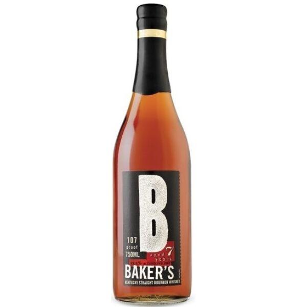 Baker's 7 years whiskey 0,75L 53,5%