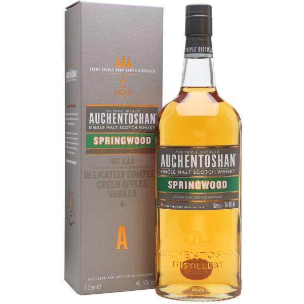 Auchentoshan Springwood whisky pdd. 1L 40%