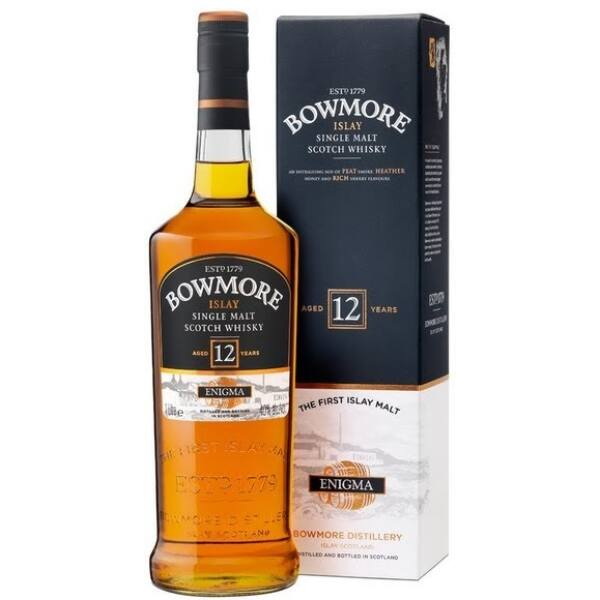 Bowmore Enigma 12 years whisky 1L 40%
