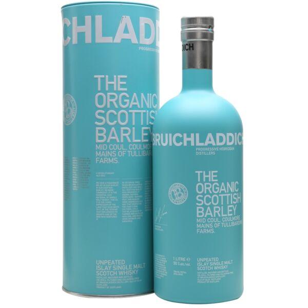 Bruichladdich The Organic Scottish Barley whisky fém dd. 1L 50%