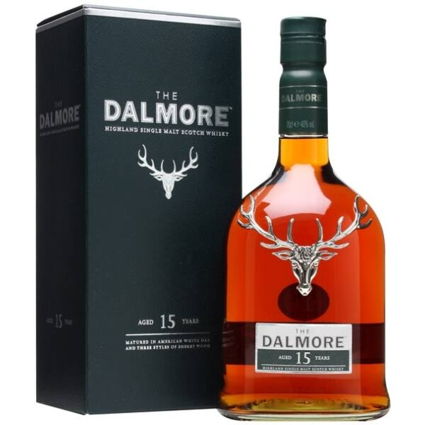 Dalmore 15 years whisky pdd. 1L 40%