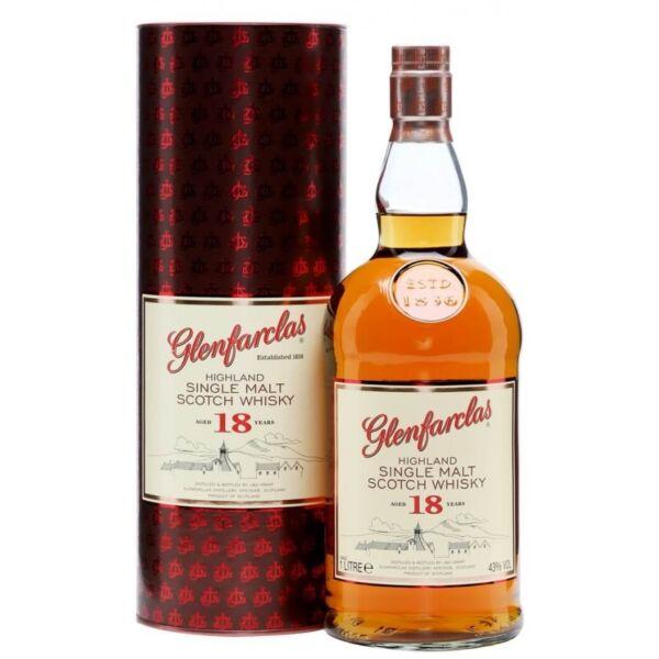 Glenfarclas 18 years whisky dd. 1L 43%