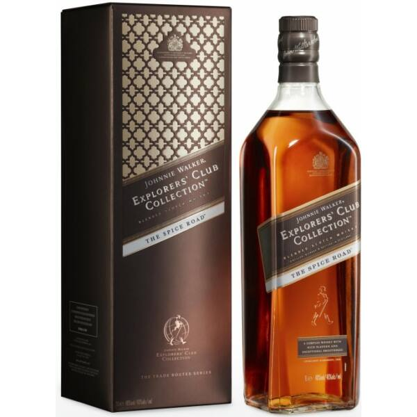 Johnnie Walker Explorer's Club Collection - The Spice Road whisky dd. 1L 40%