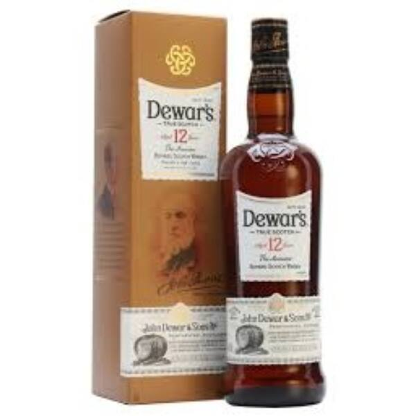 Dewars 12 years -The Ancestor- 0,7 40% pdd.